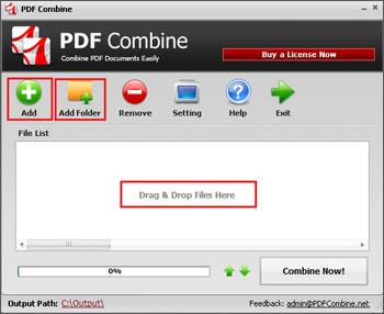 Phần mềm ghép file PDF