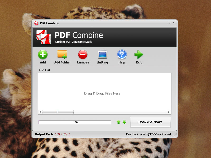 Click to view PDF Combine 2.2 screenshot